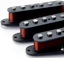 1963 Strat Vintage Wound Professional Pickup Set