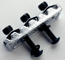 42mm Rear Mount Floyd Rose Locking Nut. Chrome includes hardware.