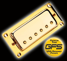 Gold BRIDGE Fat Mini- Fat Alnico V Magnets- Our Best!