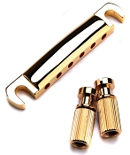 XGP USA Gibson fit Gold Stop Tailpeice with Studs- Perfect OEM style- OUR BEST!