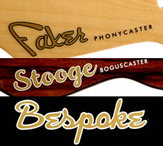 Headstock Decals