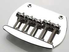 Classic Musicman Style Bass Chrome Bridge Replacement 5-strings
