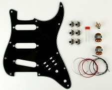 BHM Style SeriesPhase switching Kit 3 Ply Black Pickguard