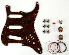 BHM Style Series/Phase switching Kit Tortoiseshell pickguard