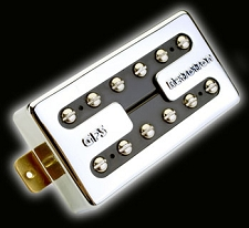 KP - Memphis Alnico 2 Rickenbacker tone Vintage Jangle Pickup, Chrome - Kwikplug® Ready