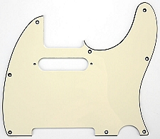 Telecaster Pickguard cut for Neck Strat pickup