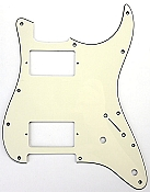 Stratocaster Pickguard cut for Two humbuckers
