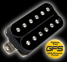 GFS professional Series Alnico II Humbucker Black Bridge Pickup