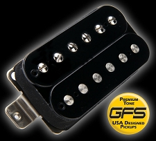 GFS professional Series Alnico II Humbucker Black Case Neck Pickup