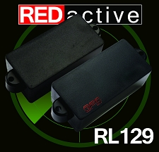 REDactive P Bass Active pickup  black Case