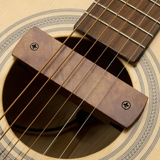 GFS Curly Rosewood Soundhole Magnetic Pickup 3.5mm for Blender