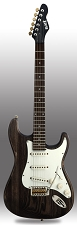 Slick SL57 Aged Brown Woodgrain Alnico Pickups