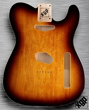 XGP Professional Double Bound Tele Body Vintage Sunburst - Blem