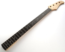 Bass Neck Clear  Gloss Finish Rosewood Fingerboard