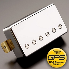KP - Crunchy Pat High Output Humbucker, Chrome - Kwikplug® Ready