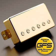 KP - Crunchy Pat High Output Humbucker, Gold - Kwikplug® Ready