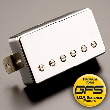 KP - Alnico Fat Pat Boutique Humbucker, Chrome - Kwikplug® Ready