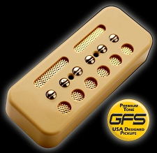 KP - GFS Gold Foil Single Coil  Alnico Soapbar, Cream - Kwikplug® Ready