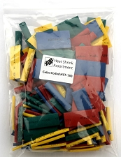 XGP 285 pc. Heat Shrink Tubing Assortment- Multi Color- Made for Guitar projects!