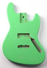 Jazz Bass Lightweight Body Seafoam Green Finish