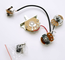 Telecaster Humbucker Complete Wiring Harness Pre-Assembled- USA Switch