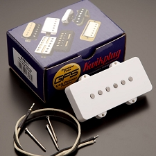 KP - GFS JM90 OVERWOUND Hot Jazzmaster Pickups, WHITE - Kwikplug® Ready