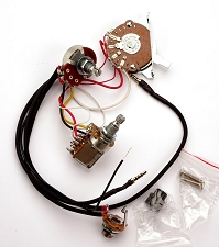 Kwikplug Tele 2 HUMBUCKER COIL TAP Wiring Harness- PRE-SOLDERED Drop-In