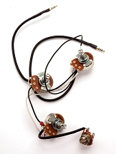 Kwikplug Jazz Bass Wiring Harness- PRE-SOLDERED Drop-In