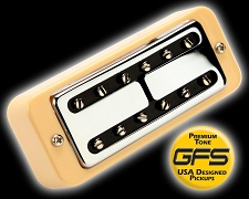 KP - HOT Nashville Minitron Humbucker Overwound Wound P90 - Soapbar mount - Kwikplug® Ready