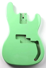 P Bass Lightweight Body Seafoam Green Finish