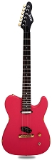 Slick SL50 Aged Coral Red Dual Telecaster Pickups