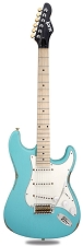 Slick SL57 Aged Daphne Blue Maple Fingerboard Alnico Pickups