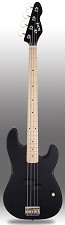 Black Slick SLPB Solid Ash Bass Guitar Maple Fingerboard SLick Alnico Pickup