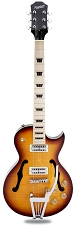 Xtrem Equipped XV-570 Maple Fingerboard Minitrons Flamed Sunburst