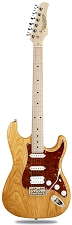 XV-875 Swamp Ash Natural Kwikplug Equipped HSS Maple Fingerboard