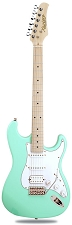 XV-875 Surf Green Kwikplug Equipped HSS Maple Fingerboard