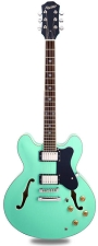 NEW! XV-900 Semi Hollowbody Alnico Fat Pats Surf Green - Luthier Special