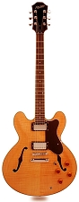 NEW! XV-900 Semi Hollow Flamed Maple Natural Clear Gloss - Blem