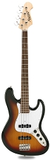 JB Bass Alder Body Maple Neck Sunburst Rosewood Fingerboard