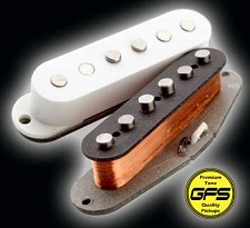 KP - '64 Stagger Texas Grey Bottom Surf/Blues Pickups - Kwikplug® Ready