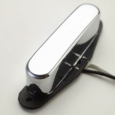 KP - Alnico Tele Neck Pickup- Classic Chrome Cover - Kwikplug® Ready