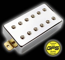 KP - Dream 180 Vintage-Voiced Humbucker, Chrome - Kwikplug® Ready