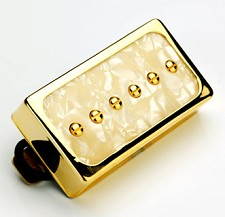Dream 90 Humbucker SIzed P90 Gold Pearl/Gold Neck Position