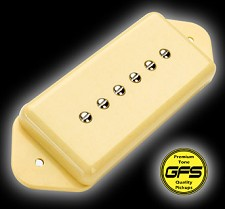 KP - GFS Alnico Vintage Wound Dogear Pickups, Cream - Kwikplug® Ready
