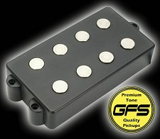 KP - GFS MM Pro Music Man size pickup- MAXIMUM string response! - Kwikplug® Ready