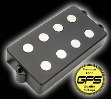 KP - GFS MM Pro Plus- Alnico Music Man style pickup - INCREDIBLE tone! - Kwikplug® Ready