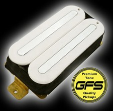 KP - GFS Power Rails- Crushing power, Killer Tone, White - Kwikplug? Ready