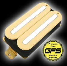 KP - GFS Power Rails- Crushing power, Killer Tone- Ivory  - Kwikplug® Ready