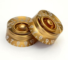 4 Gold Speed Knobs Set of Four