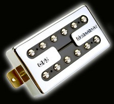 KP - Hot Liverpool Overwound Alnico Humbucker, Chrome - Kwikplug® Ready